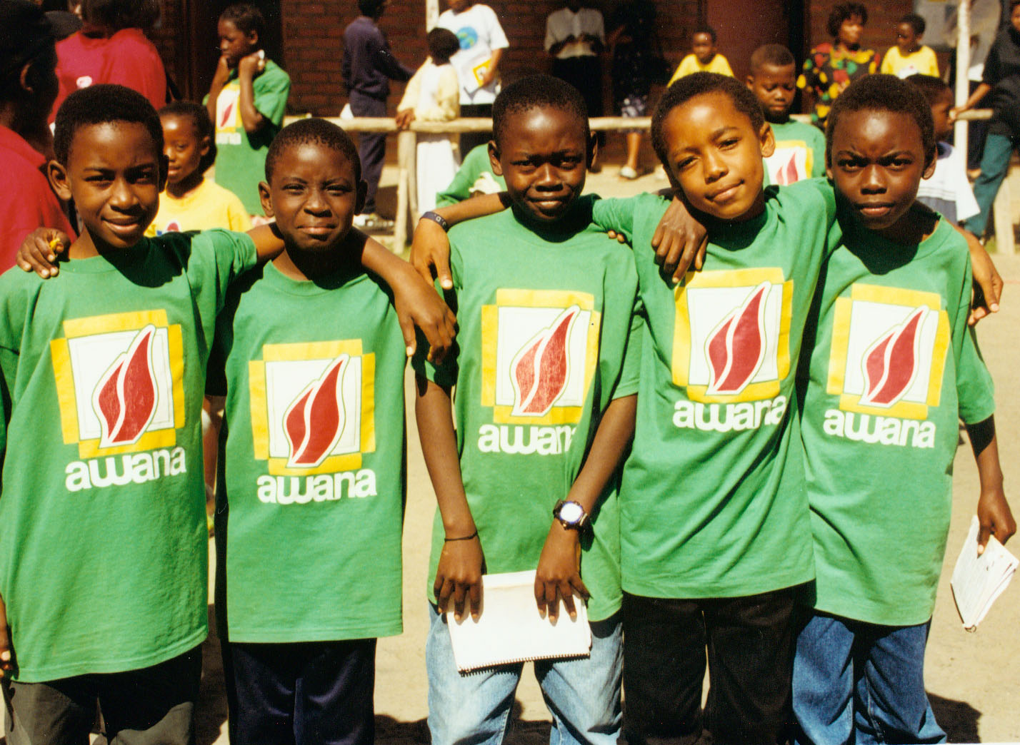 Five Flame clubbers in Malawi