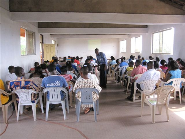 Seed Planter Training in Ghana