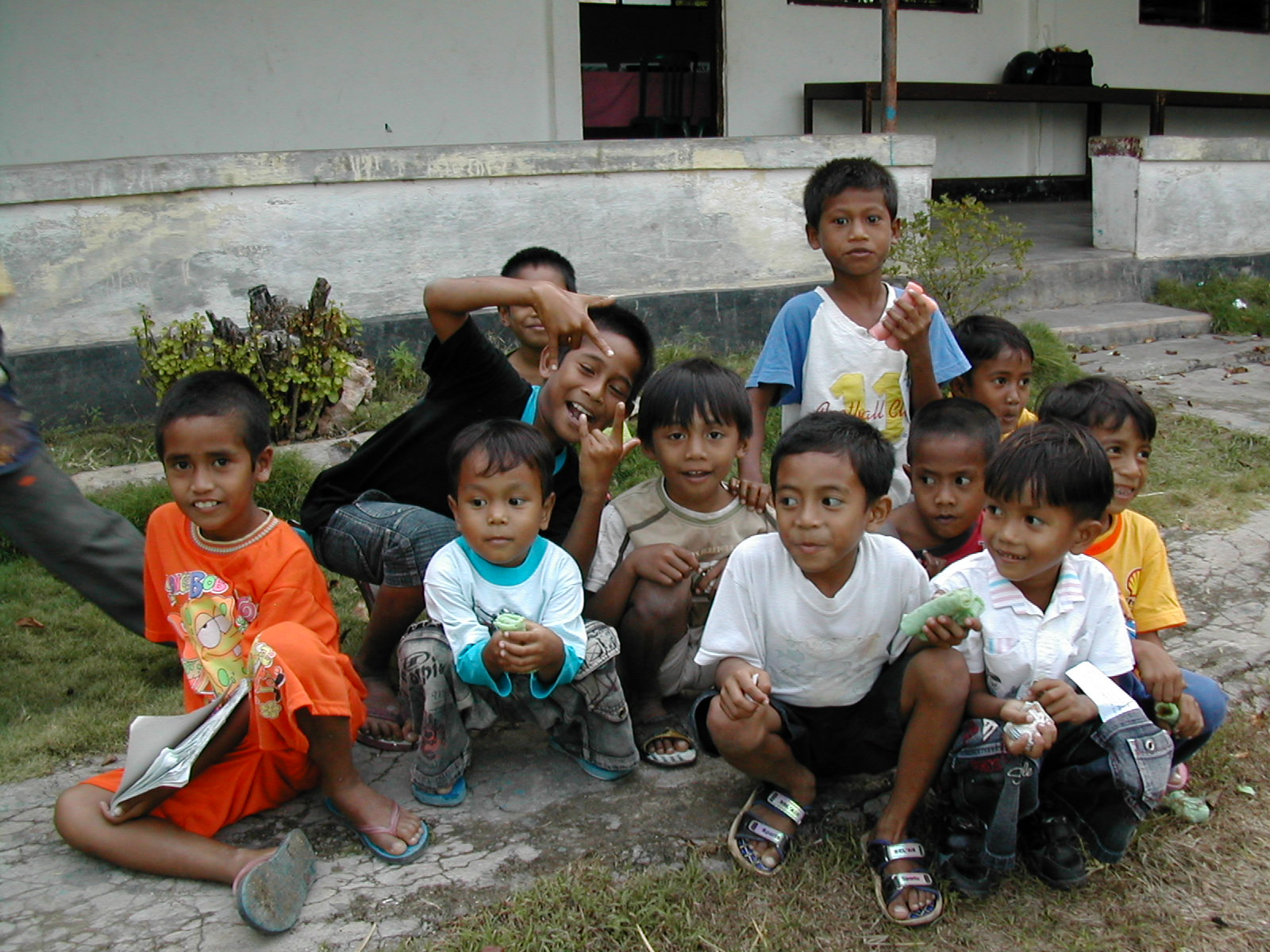 Kids in Indonesia