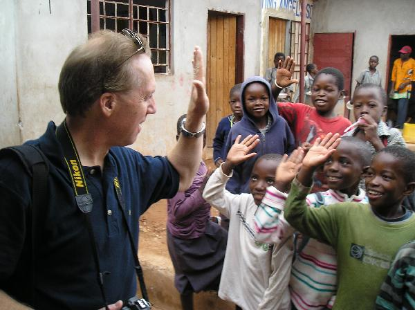 Jon Gauger in Zambia