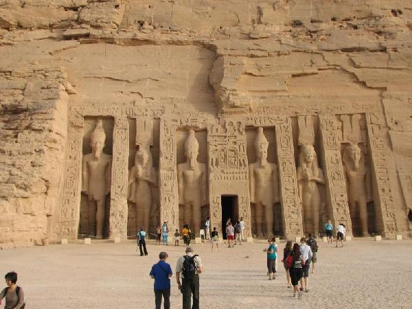 Ancient ruins in Egypt