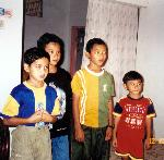 Boys in Indonesia